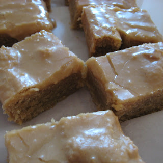 The Famous School Cafeteria Peanut Butter Bars.