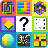 Puzzle Out - Dots, Hexa Lines, Unblock, Tangram