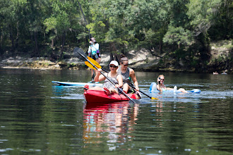 Photo: power paddling
