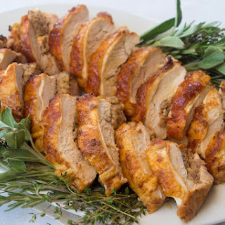 Spicy Stuffed Turkey Breast.