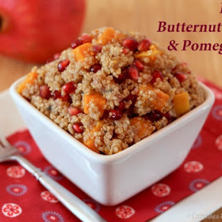 Butternut Squash & Pomegranate Quinoa