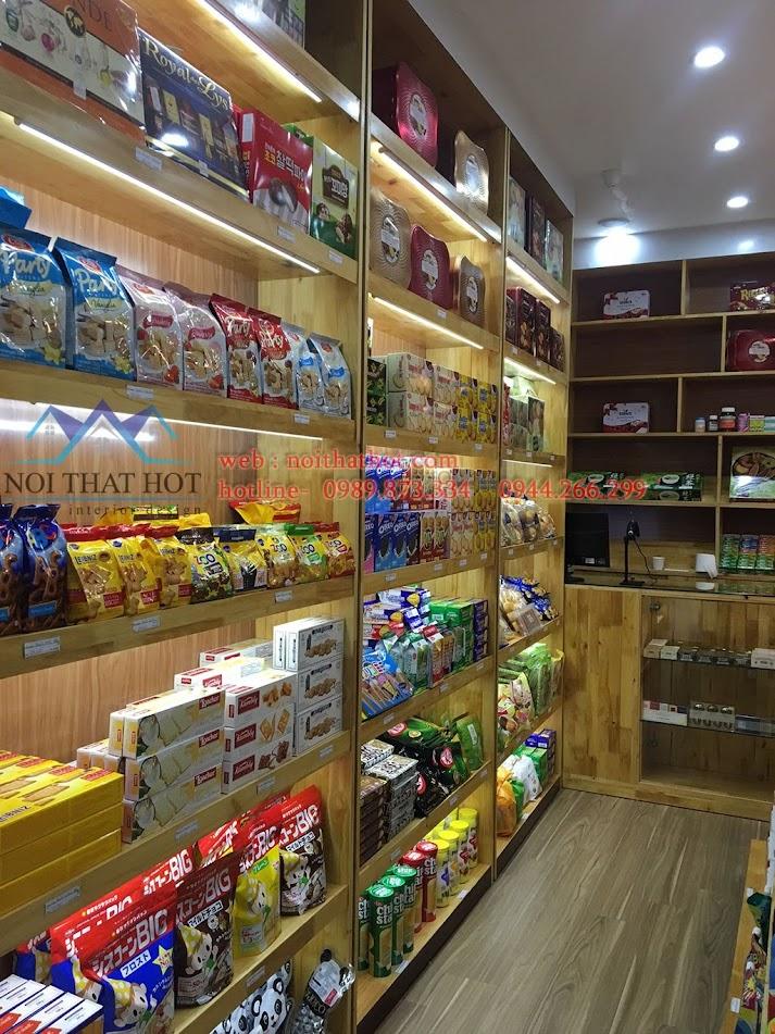 thi công cửa hàng bánh kẹo nhập khẩu 2