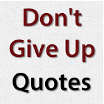 Don't Give Up Quotes Icon