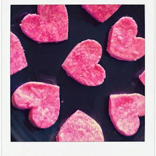 Pink Two Ingredient Fudge.