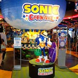 Sonic Carnival games in Odaiba, Tokyo, Japan