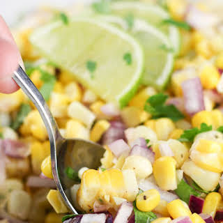 Healthy Summer Corn Salad.