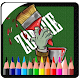 Draw Zombie Cartoon vs Painting Book (game)