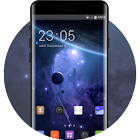Theme for Sony Xperia M4 Aqua space wallpaper icon