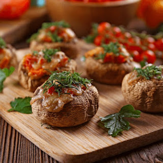 Grilled Stuffed Portobello Mushrooms Recipes