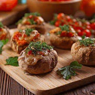 Stuffed Portobello Mushrooms on the Grill.