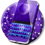 Free 2017 Purple Keyboard Icon