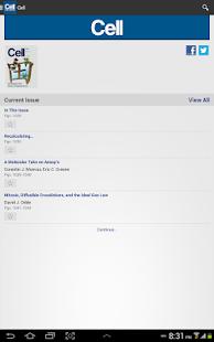 Cell Press Journal Reader- screenshot thumbnail