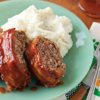 Bacon-Barbecue Meatloaf.