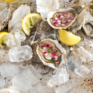 Oysters with Mignonette Sauce Recipe