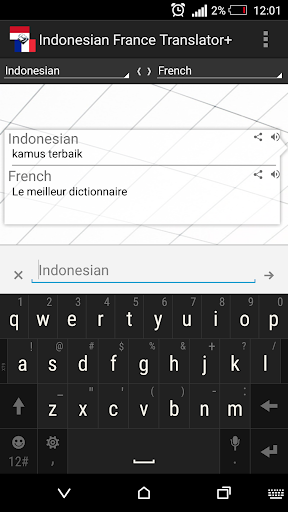 Indonesian French Translator+