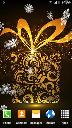 Abstract Christmas Wallpaper