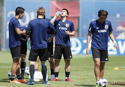 Un Japonais incertain pour le match face aux Belges