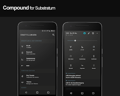 Compound for Substratum (Android Oreo/Nougat) Screenshot