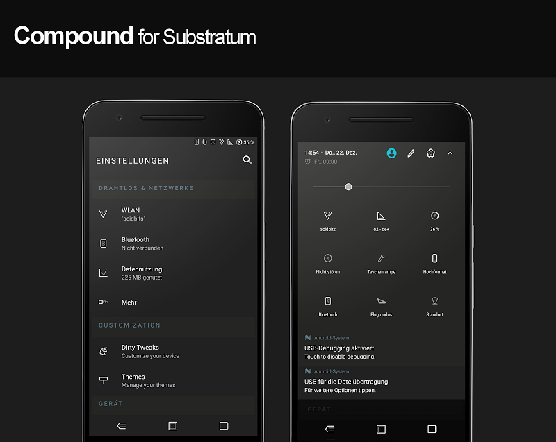 Compound for Substratum (Android Oreo/Nougat) Screenshot 15