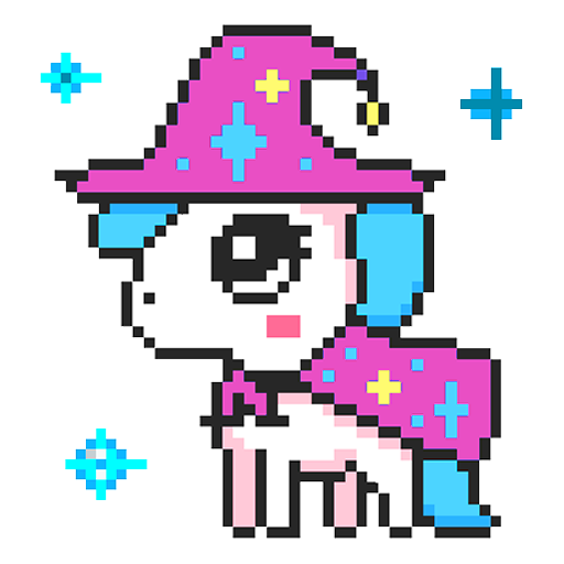 Unicorn Color Sandbox: Color by Number Free