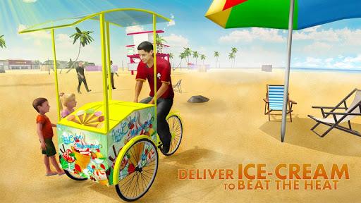 海灘冰淇淋Delivery SIM