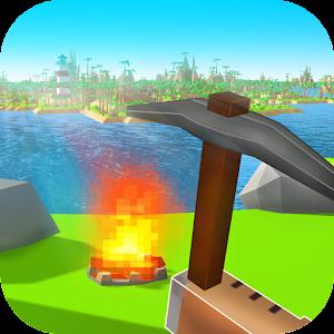 Pixel Island Survival 3D icon do Jogo