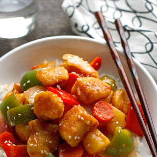 Lighter Sweet And Sour Chicken
