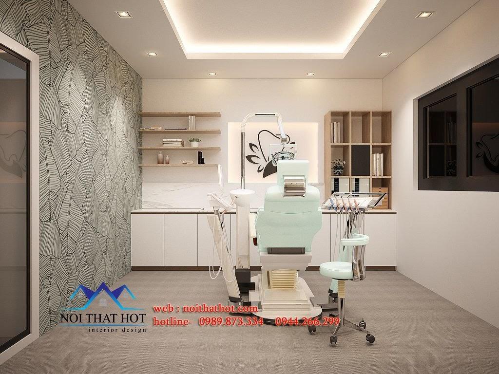 Nội thất phòng khám răng
