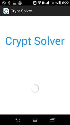 Crypt Solver