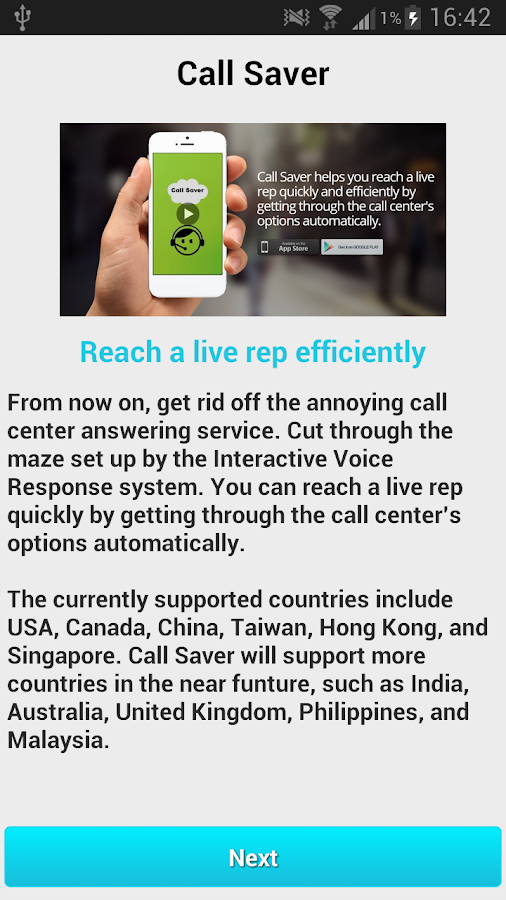 Call Saver- screenshot