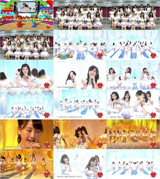 (TV-Music)(1080i) SKE48 Part – CDTV 150808