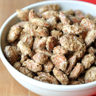 Candied Cinnamon & Sugar Almonds