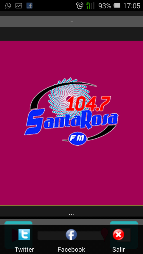 Radio Santa Rosa 104.7 FM- screenshot