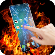 App Fire electric screen prank APK for Windows Phone