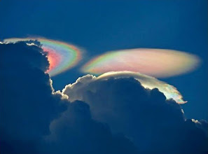 Photo: Amazing shot of a Fire Rainbow by Ken Rotberg