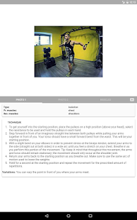 GymApp Pro Workout Log Screenshot