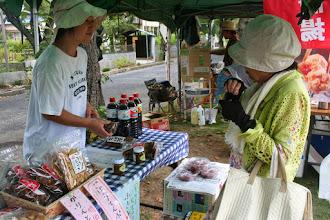 Photo: 利根運河交流館です。流山の姉妹都市、友好都市の物産を販売しています。長野県信濃町のそば茶、お買い上げありがとうございます。