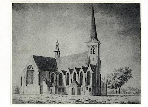 Photo: 1830  St. Martinuskerk oude prent