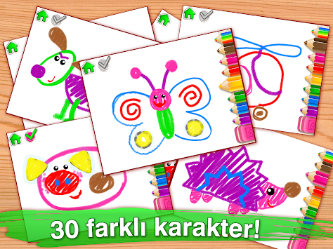 Children Coloring Games Toddlers APK Screenshot Thumbnail 10