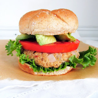 Easy Chickpea Oat Veggie Burger