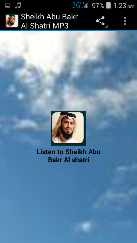 Скриншот Sheikh Abu Bakr Al Shatri MP3