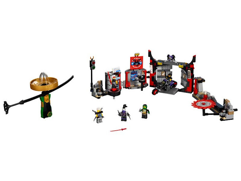 Contenido de Lego® 70640 Cuartel General de H.D.G.