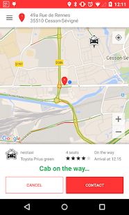 tedyCab - tap for a cab- screenshot thumbnail