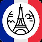 Francia guida turistica icon