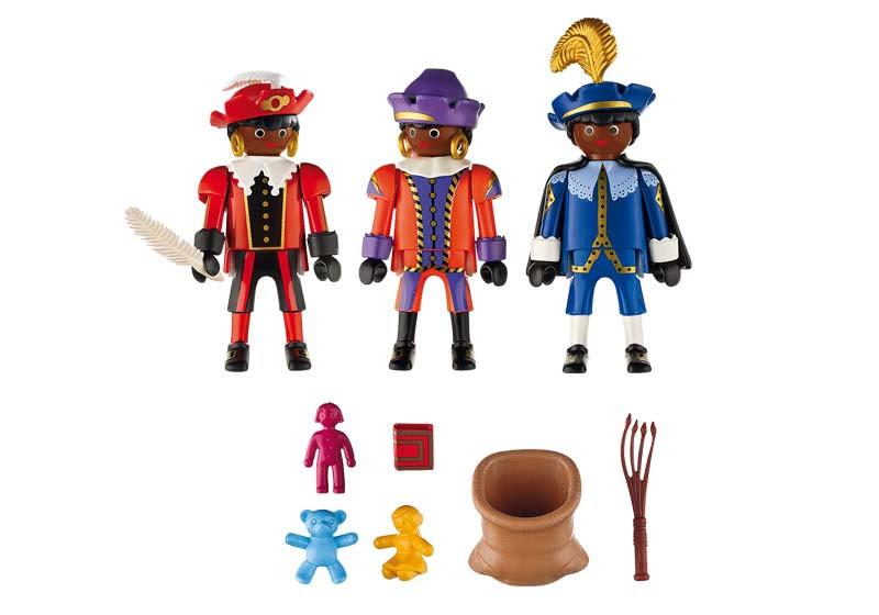 Contenido real de Playmobil® 5040 Pajes de San Nicolas