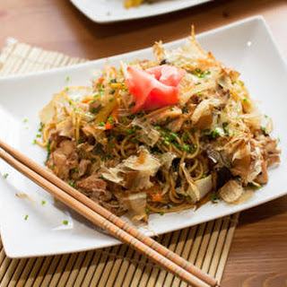 Asian Noodles With Turkey.