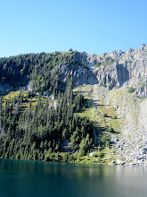 Photo: Fire lookout above Eunice Lake