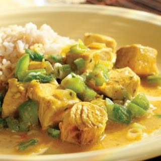 Curried Fish.
