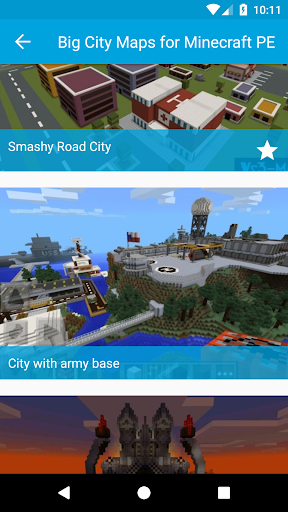 Big City Maps for Minecraft PE for PC