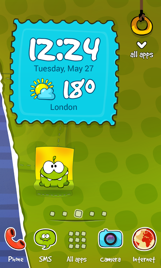 Cut the Rope Theme- screenshot